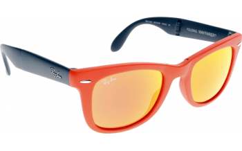 Ray Ban Orange Blue Wayfarer